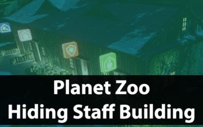 How To Hide Staff Facilities In Planet Zoo