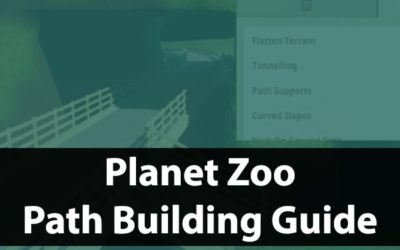 Planet Zoo Paths Guide | Building Tips & Tricks