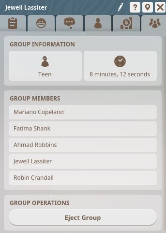 Guest Group Information